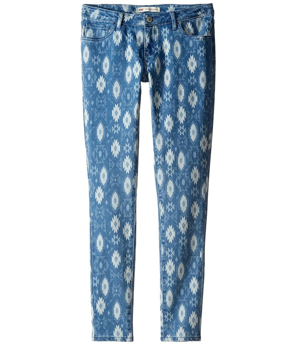 Levi's(r) Kids - 710 Boho Jeans (Big Kids) (Clean Blue) Girl's Jeans