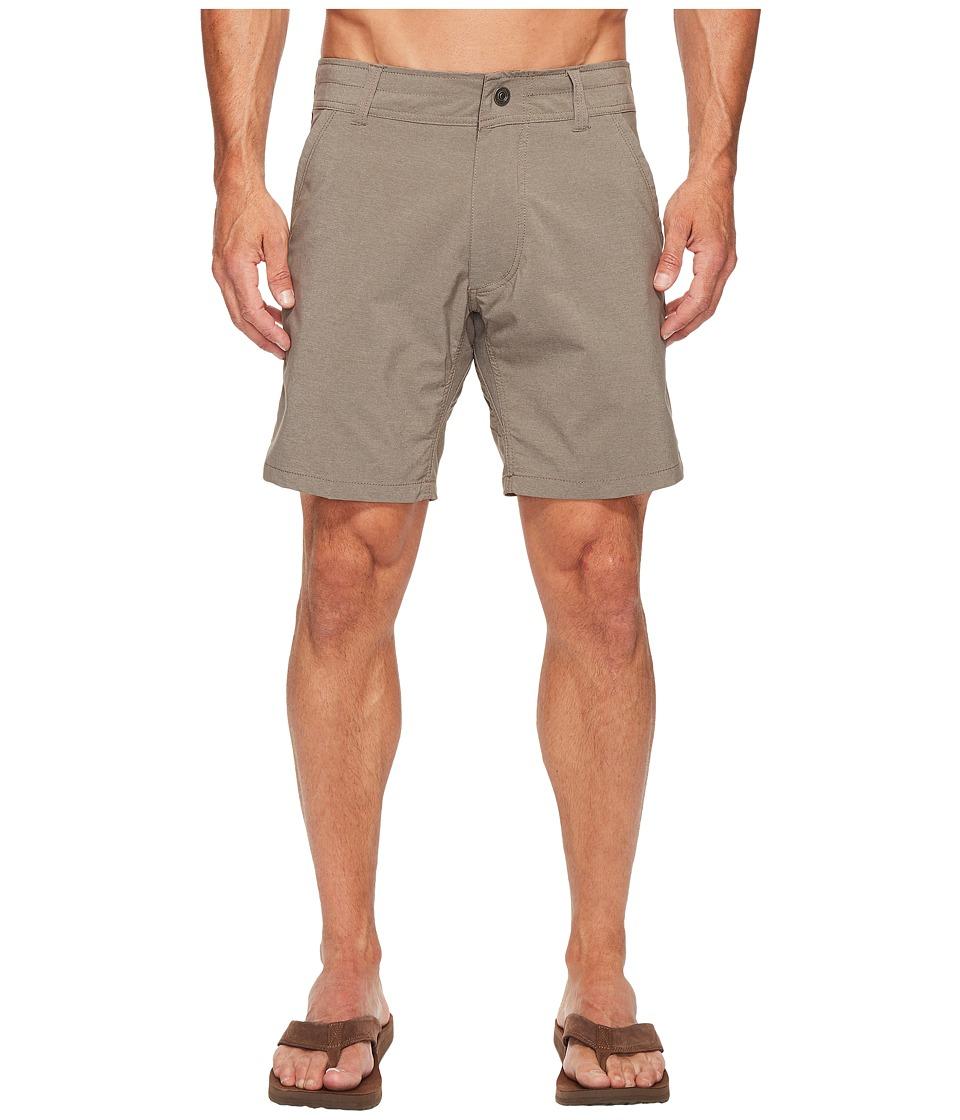 KUHL Shift Amfib Shorts 8 (Charcoal) Men