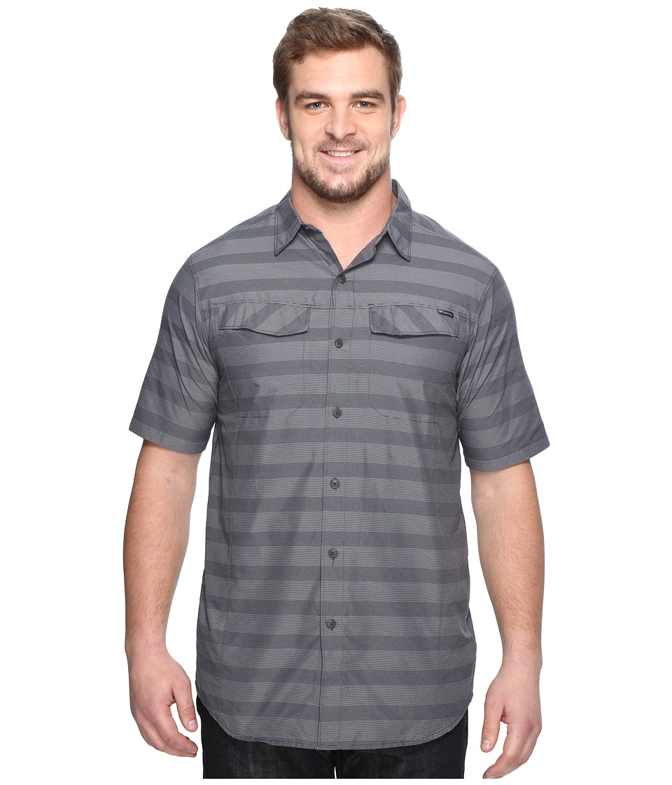 Columbia - Silver Ridgetm Multi Plaid S/S Shirt - Tall (Shark Stripe) Men's Short Sleeve Button Up