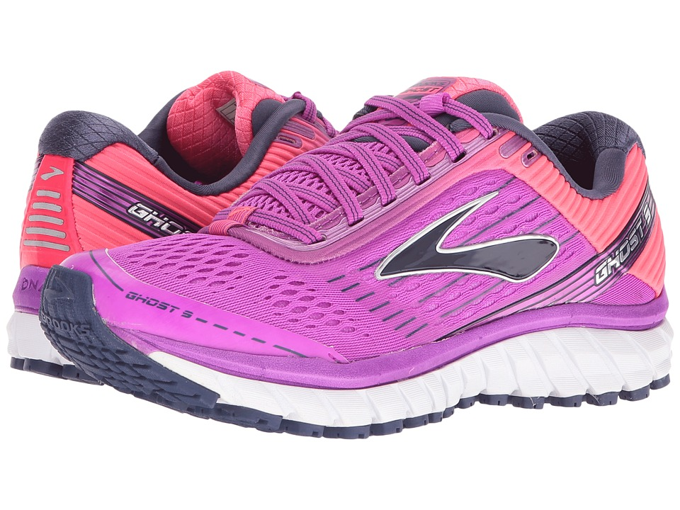 Brooks - Ghost 9 (Purple Cactus Flower/Diva Pink/Patriot Blue) Women's Running Shoes