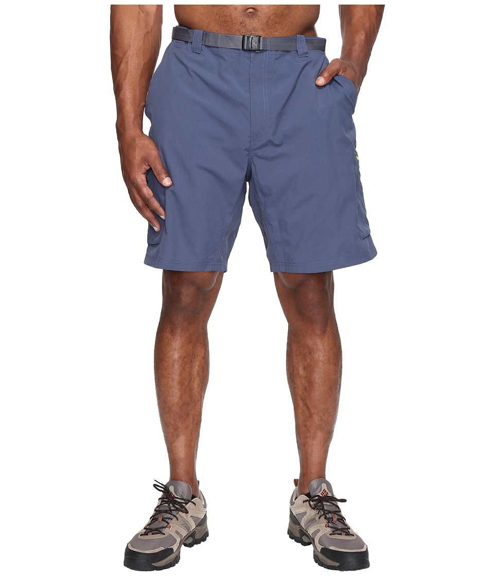 Columbia - Big Tall Silver Ridge Cargo Short (42-54) (Zinc/Voltage) Men's Shorts
