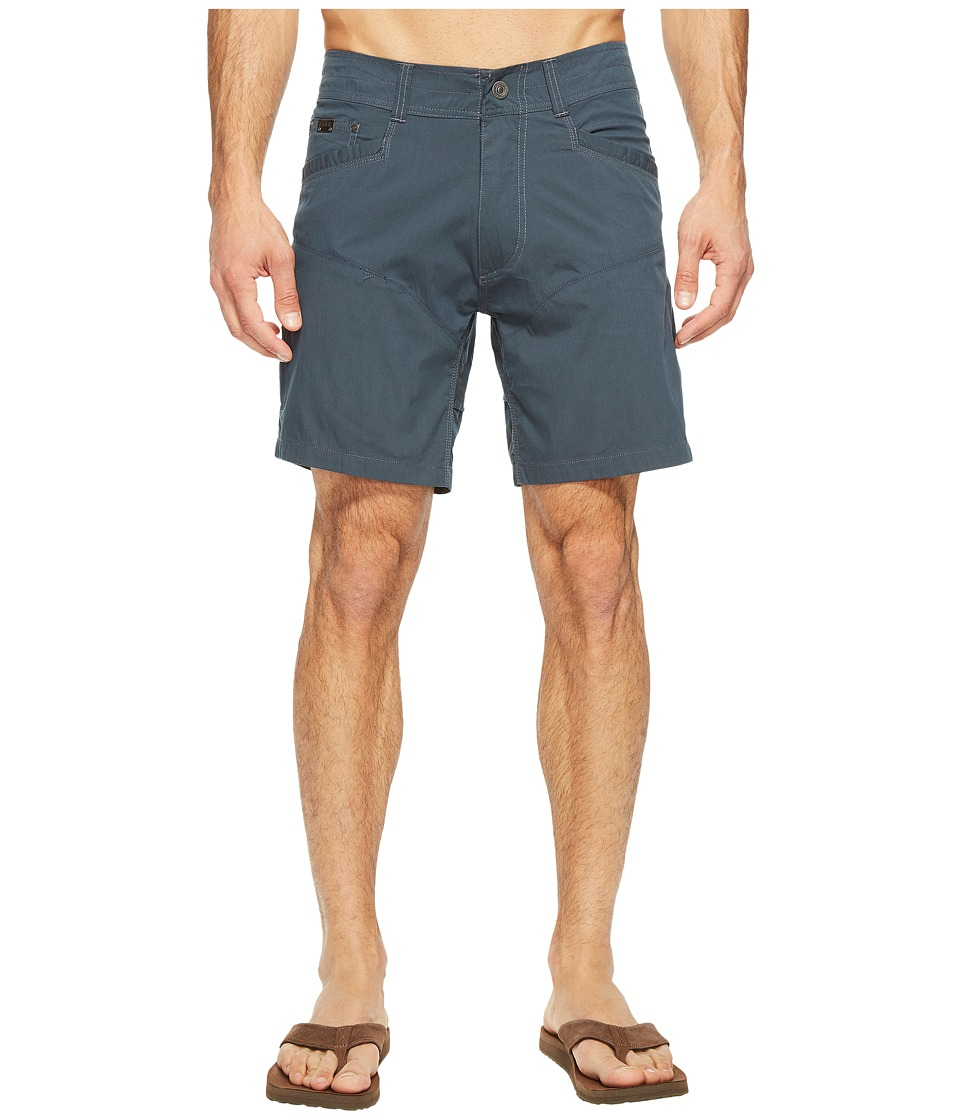 KUHL - Kontra Air Shorts - 8 (Deep River Blue) Men's Shorts