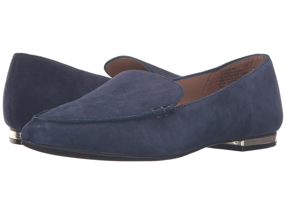 Steve Madden - Fausto (Navy Suede) Women's Shoes