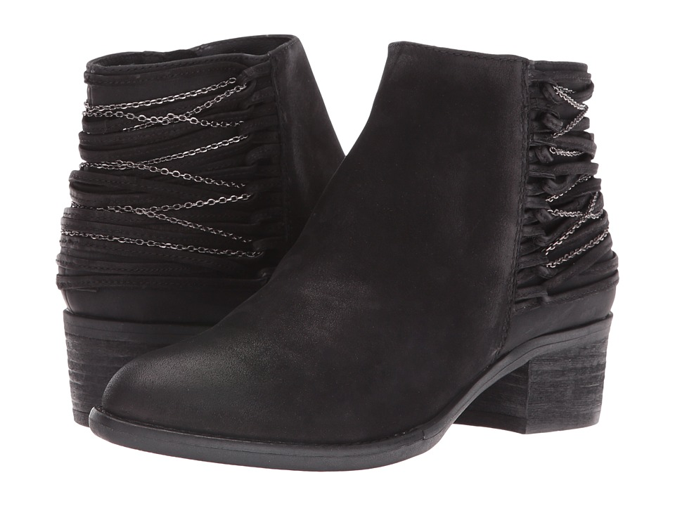 Steve Madden Chily (Black Nubuck) Women