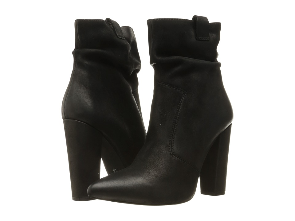 Steve Madden - Ruling (Black Nubuck) Women's Boots