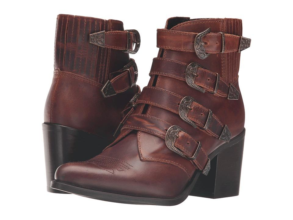 Steve Madden - Praire (Cognac Leather) Women's Shoes