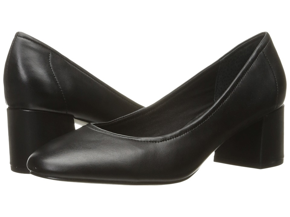 Steve Madden - Tomorrow (Black Leather) High Heels