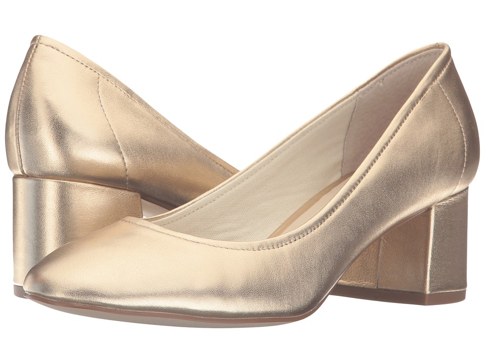 Steve Madden - Tomorrow (Gold Leather) High Heels