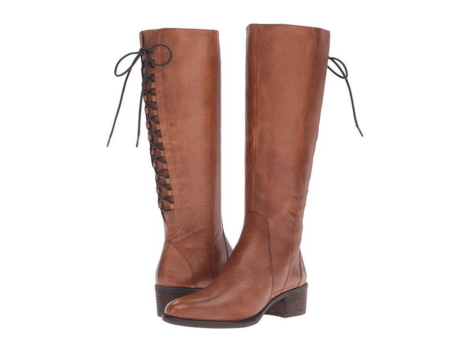 Steve Madden - Laceupp (Cognac Leather) Women's Shoes