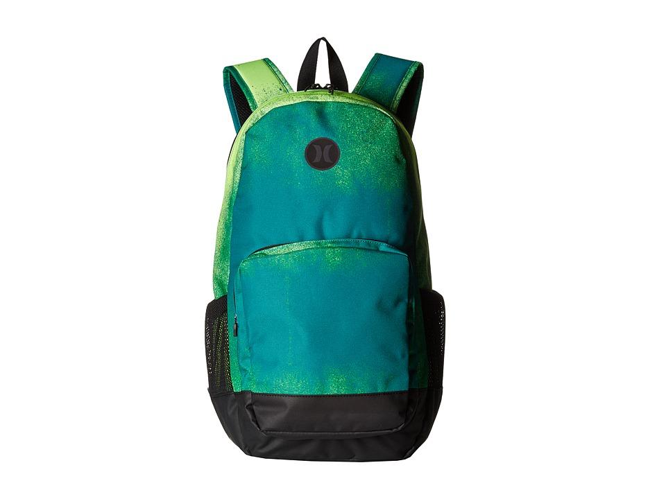 Hurley - Renegade Printed Backpack (Volt/Rio Teal/Black) Backpack Bags