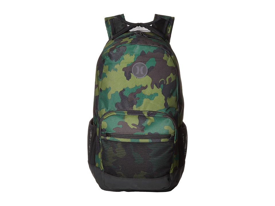 Hurley - Patrol Printed Backpack (Multi/Black) Backpack Bags