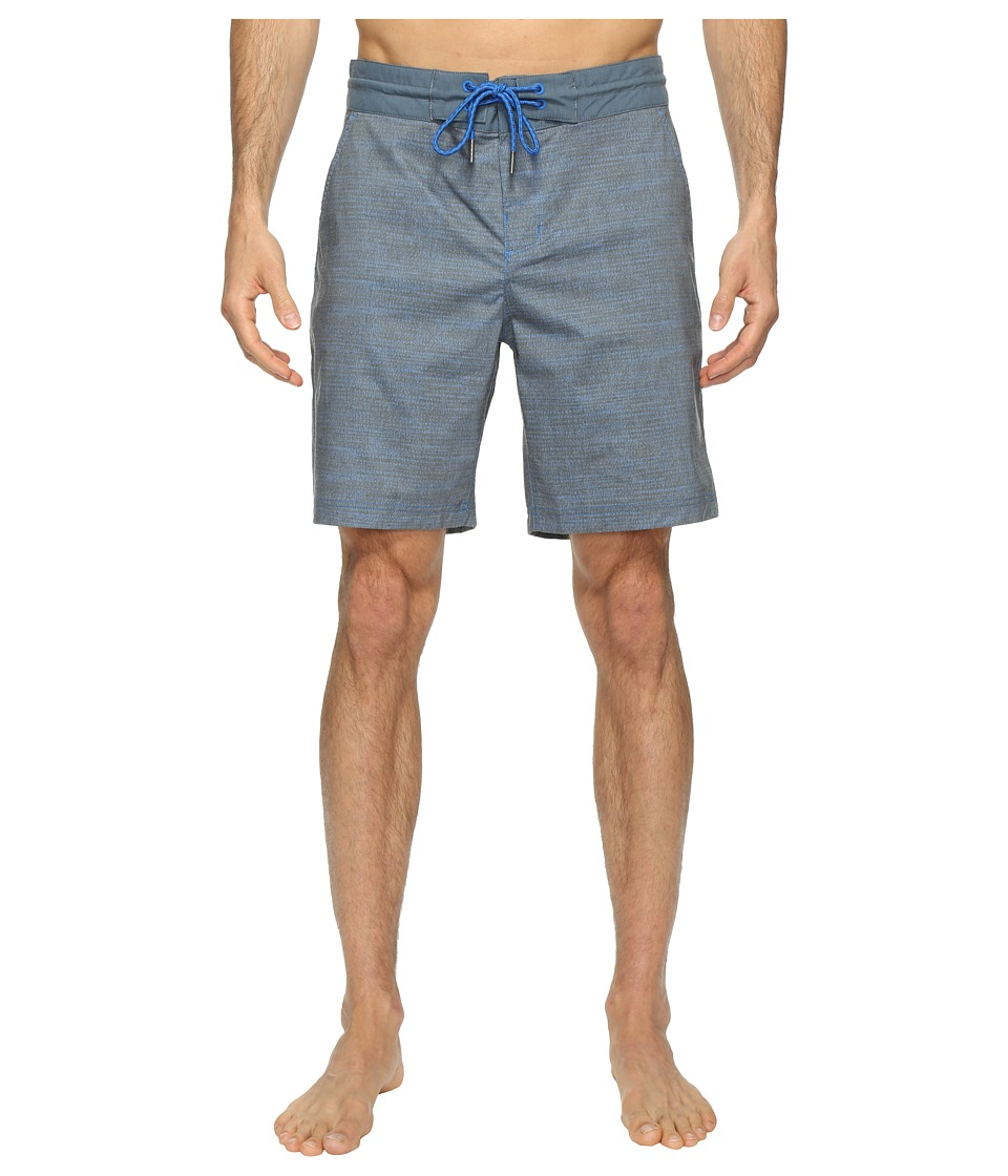 Columbia Hybrid Falls Water Shorts (Super Blue Dotty Dye print) Men