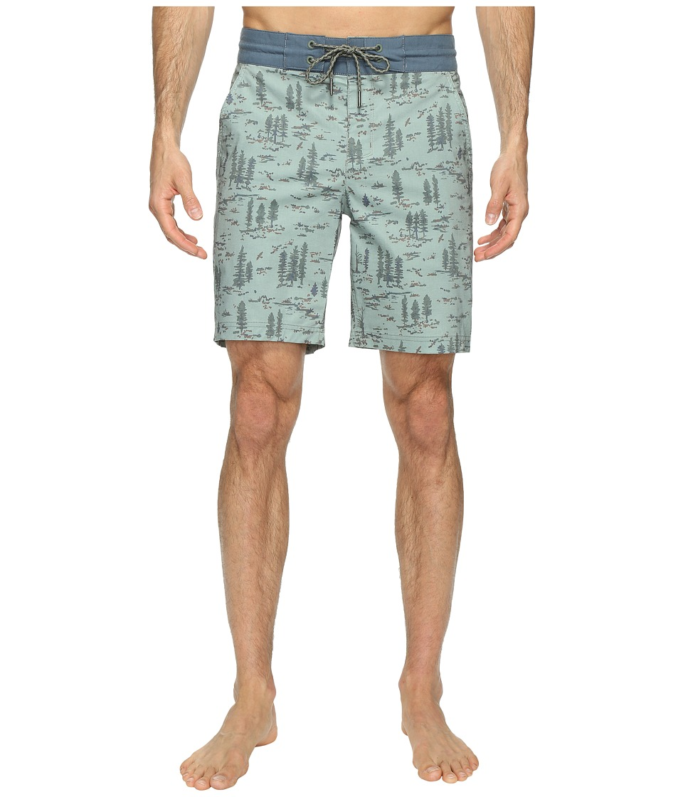 Columbia - Hybrid Falls Water Shorts (Cypress Print) Men's Swimwear