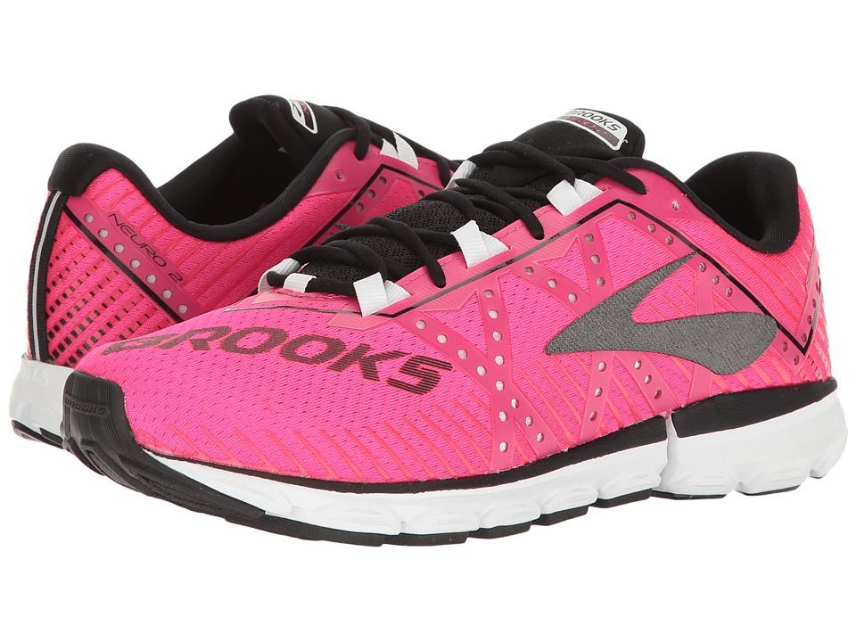 Brooks Neuro 2 (Pink Glo/Black/White) Women