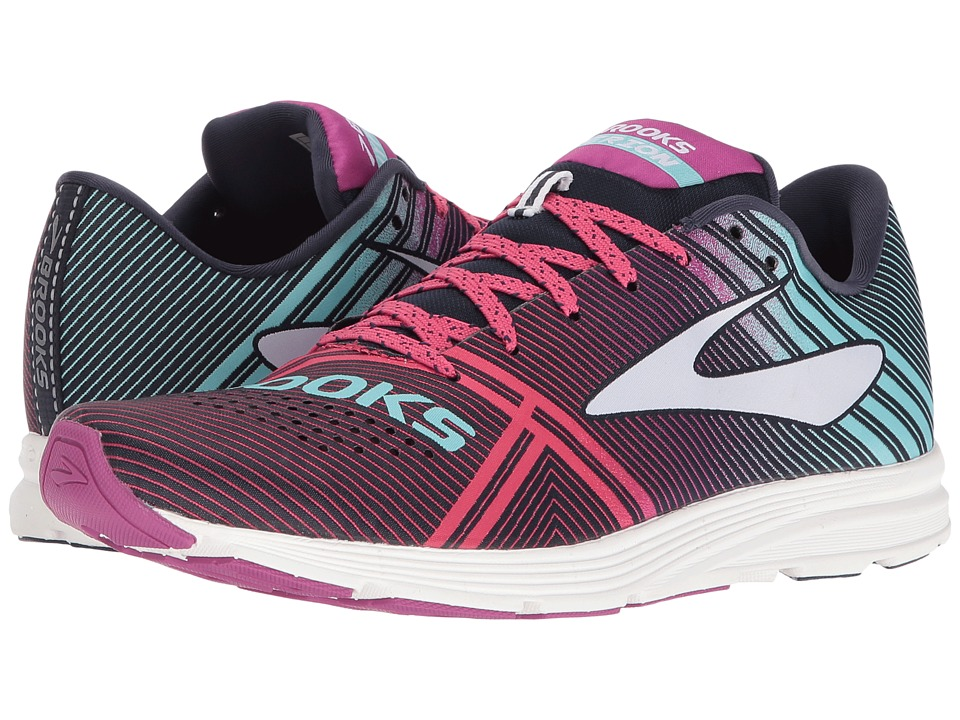 Brooks - Hyperion (Peacoat/Purple Wine/Aruba Blue) Women's Running Shoes