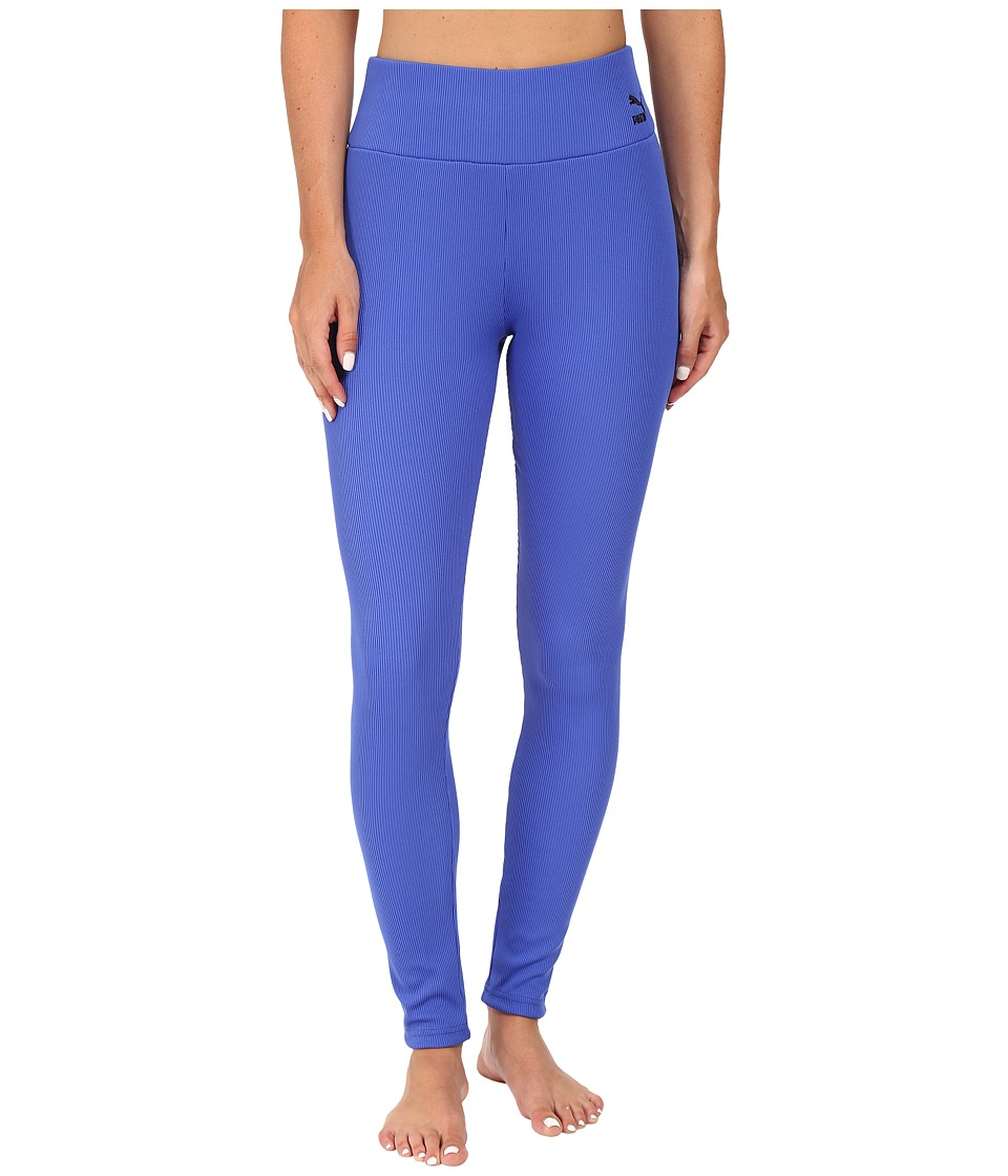 PUMA - Rib Leggings (Dazzling Blue) Women's Casual Pants