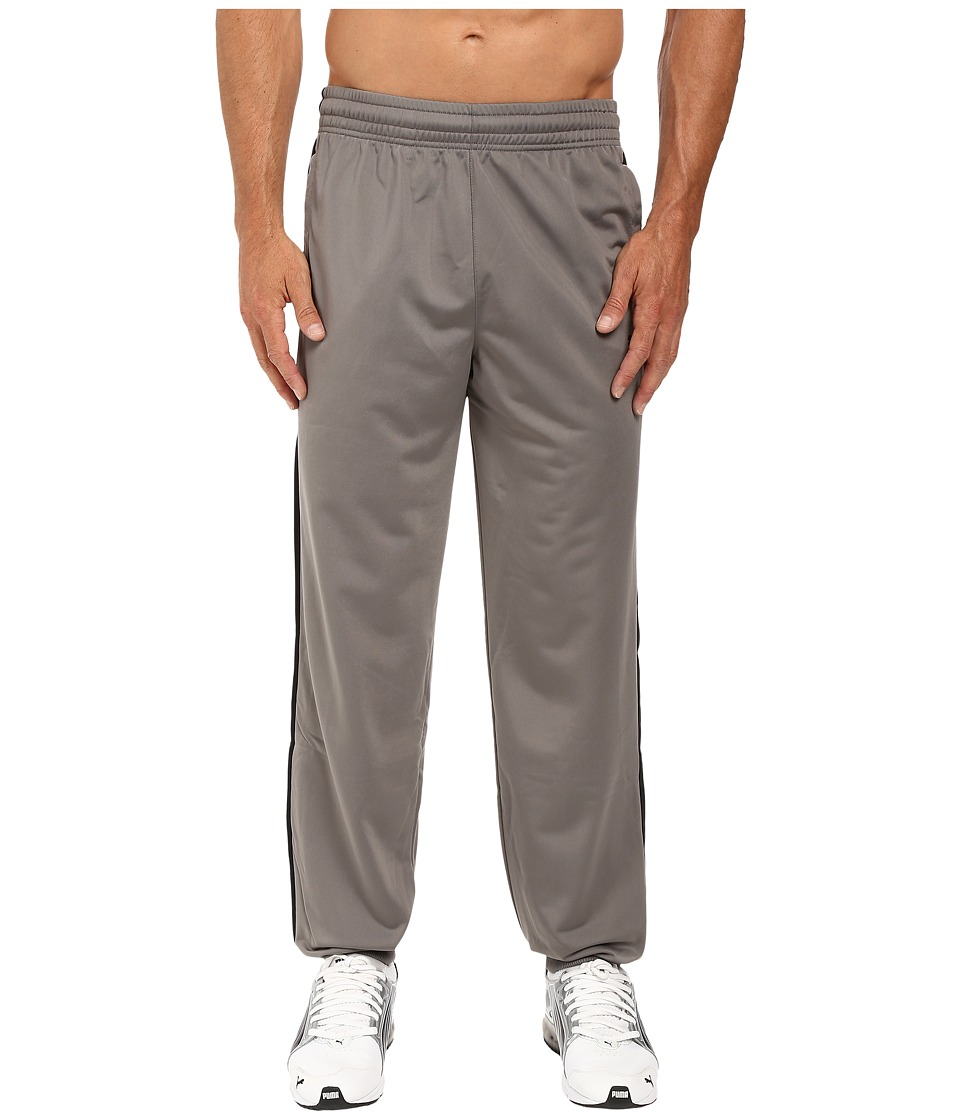 PUMA - Contrast Pant Cuffed (Steel Gray/Black) Men's Casual Pants