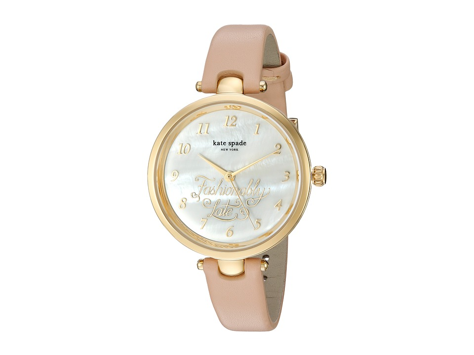 Kate Spade New York - Fashionably Late Holland - KSW1220 (Beige) Watches