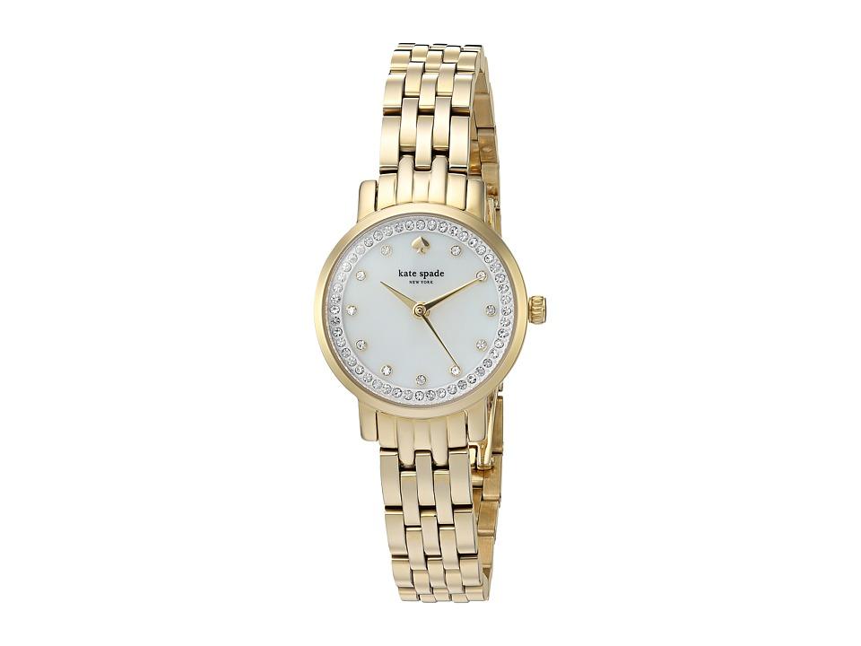 Kate Spade New York - Mini Monterey - KSW1242 (Gold) Watches