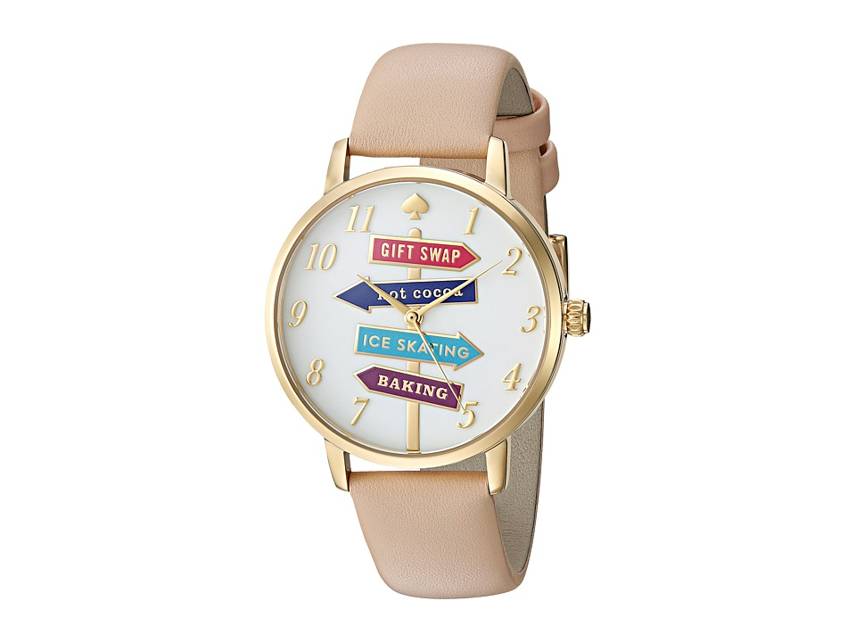 Kate Spade New York - Metro - KSW1215 (Beige) Watches