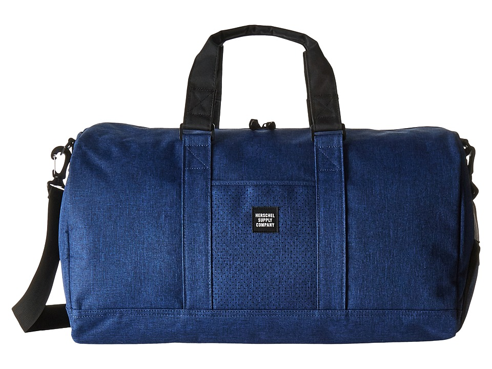 Herschel Supply Co. - Novel (Eclipse Crosshatch/Black) Duffel Bags