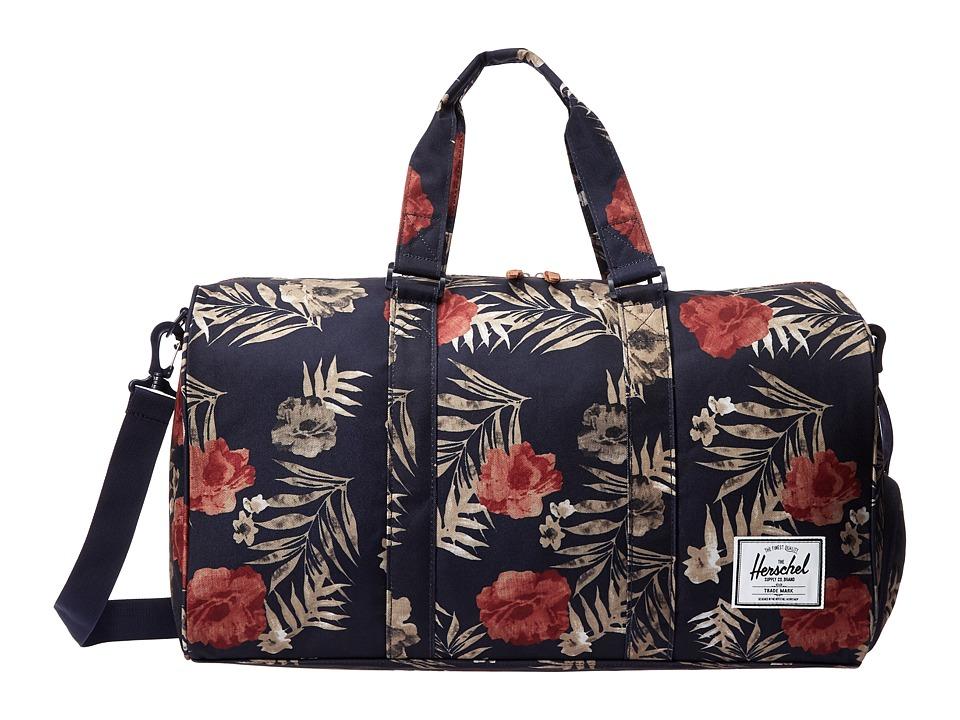 Herschel Supply Co. - Novel (Peacoat Floria) Duffel Bags