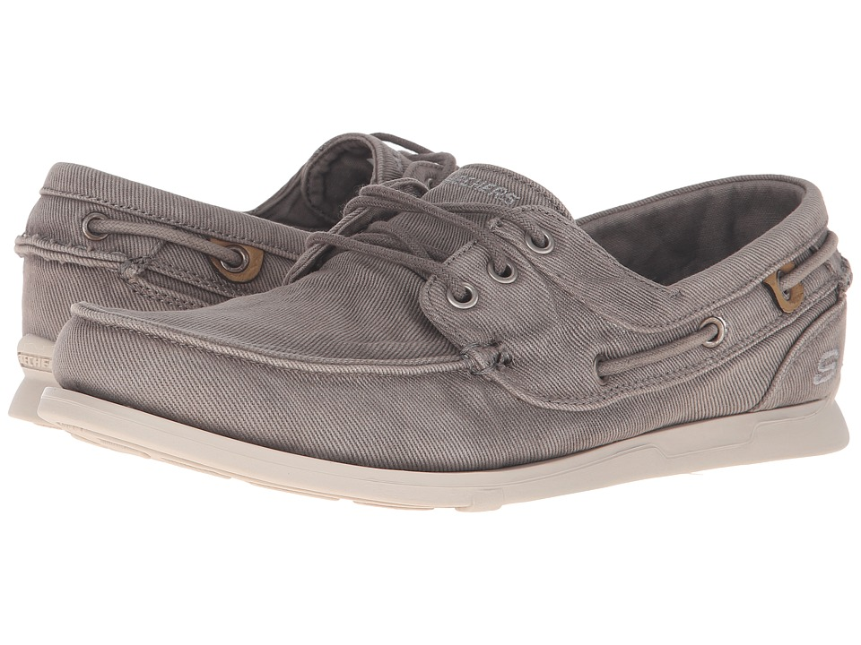 SKECHERS Relaxed Fit Eris Inaldo (Light Gray Canvas) Men