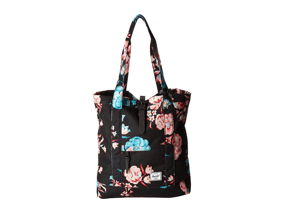 Herschel Supply Co. - Market (Pastel Petals/Black Rubber) Tote Handbags