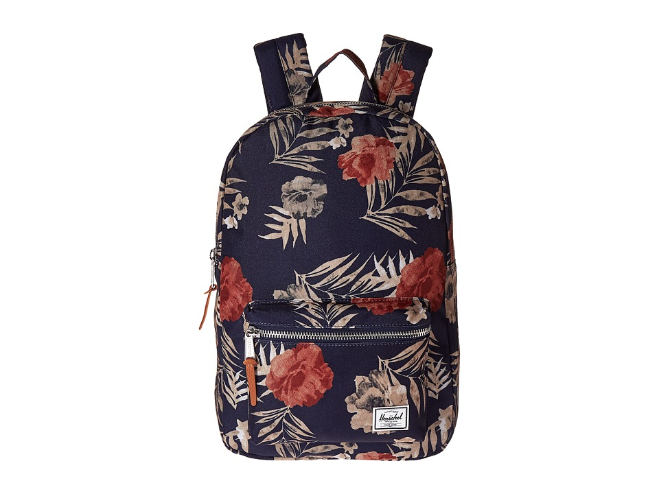 Herschel Supply Co. - Settlement Medium (Peacoat Floria) Backpack Bags