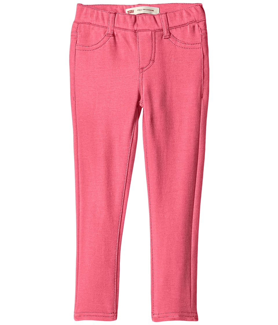 Levi's(r) Kids - Haley May Knit Leggings (Little Kids) (Camellia Rose) Girl's Casual Pants