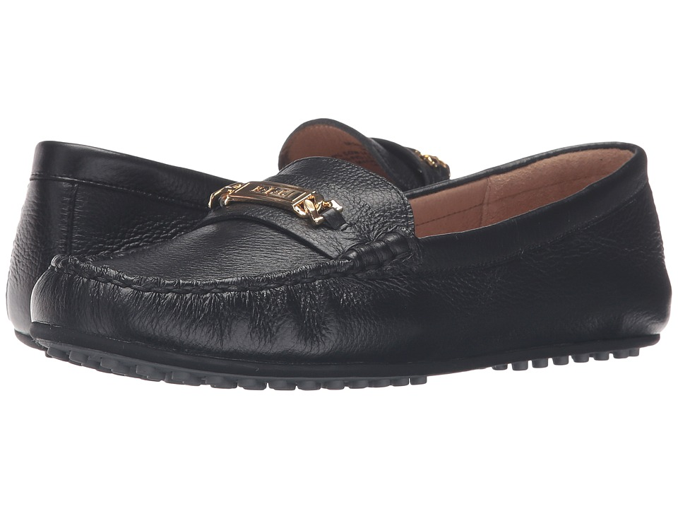 LAUREN Ralph Lauren - Berdine (Black Sport Grain) Women's Shoes