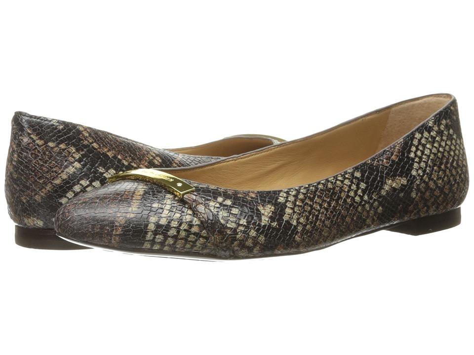 LAUREN Ralph Lauren Farrel (Brown Printed Python Snake) Women