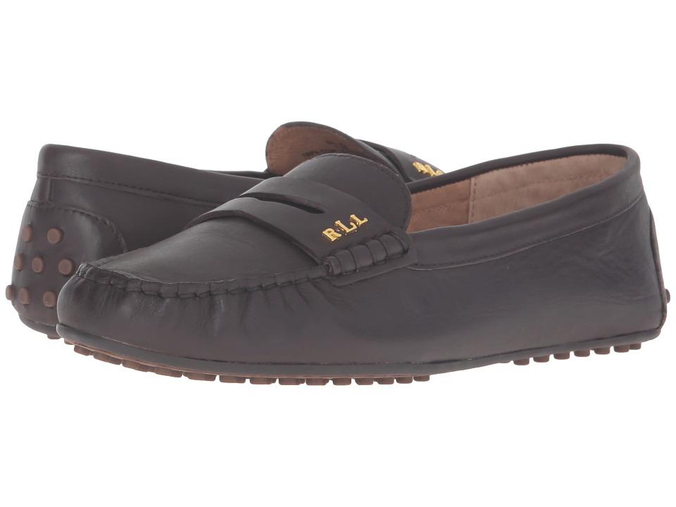 LAUREN Ralph Lauren - Belen (Dark Chocola Soft Burnished Calf) Women's Shoes