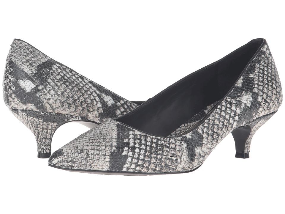 LAUREN Ralph Lauren - Abbot (Cream Printed Python Snake) Women's Shoes