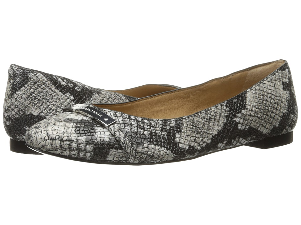 LAUREN Ralph Lauren - Farrel (Cream Printed Python Snake) Women's Shoes