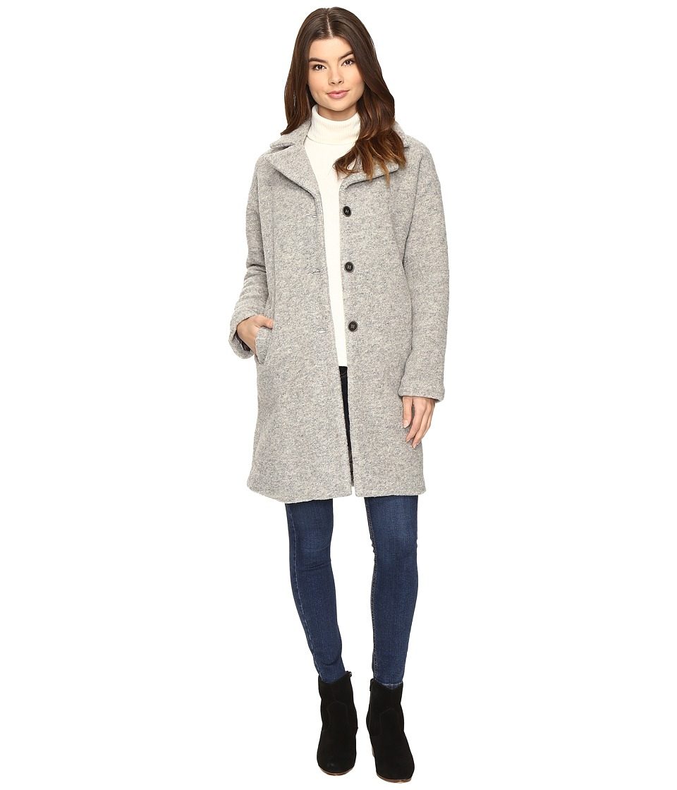 Amuse Society - Evelyn Jacket (Dark Heather Grey) Women's Coat