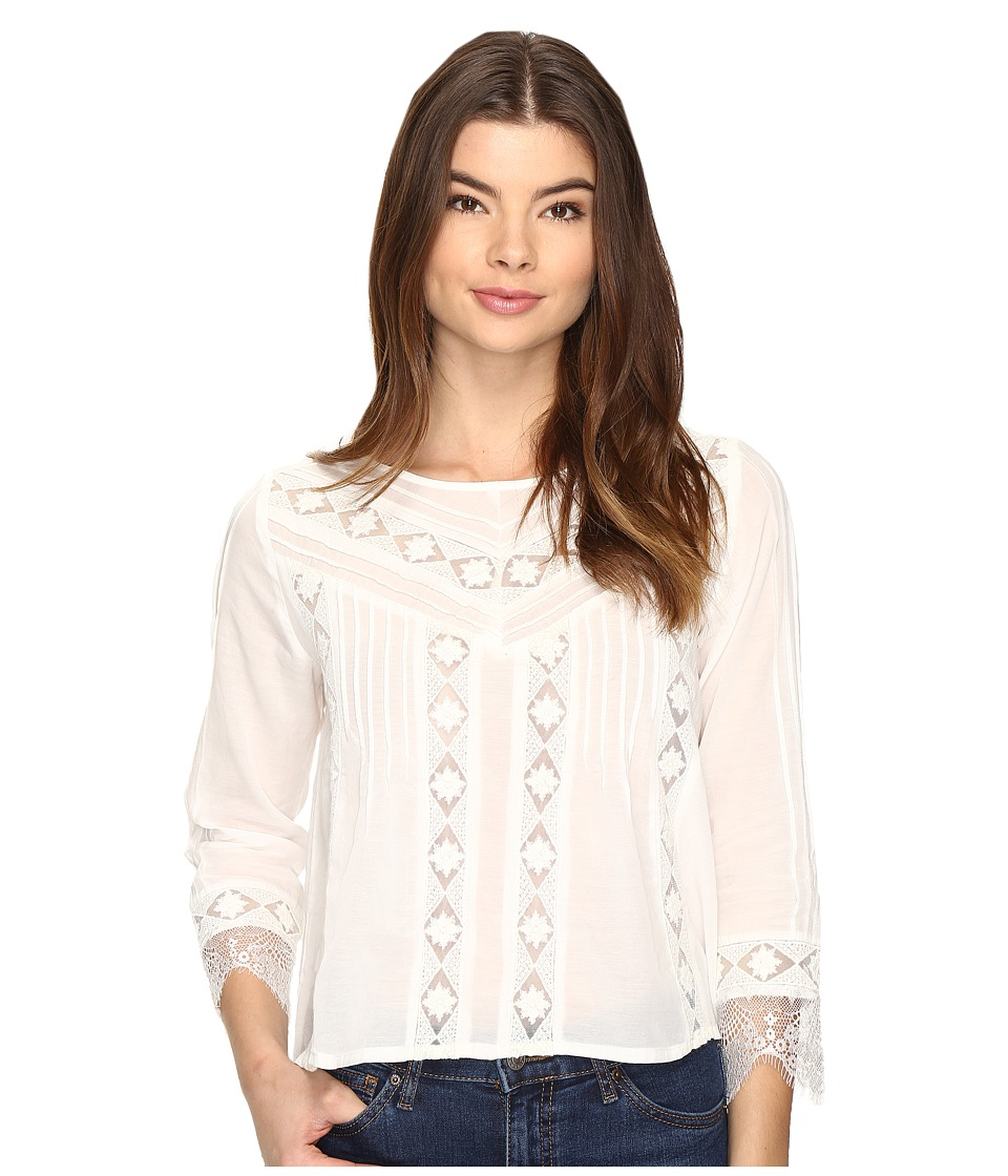 Amuse Society - Cherish Woven Top (Casa Blanca) Women's Clothing
