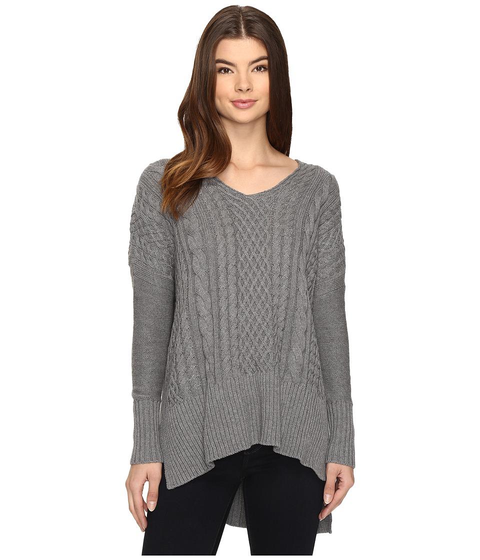 Amuse Society - Lauryn Sweater (Dark Heather Grey) Women's Sweater