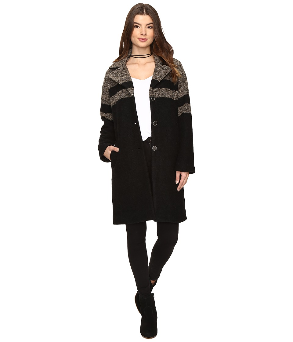 Amuse Society - Evelyn Jacket (Black) Women's Coat