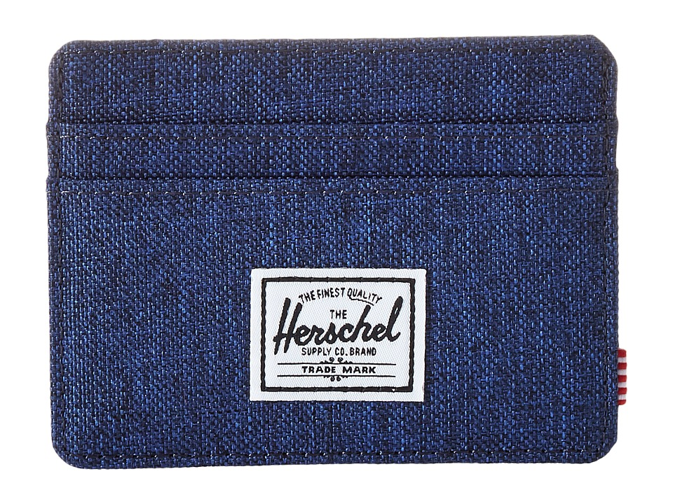 Herschel Supply Co. - Charlie (Eclipse Crosshatch) Credit card Wallet