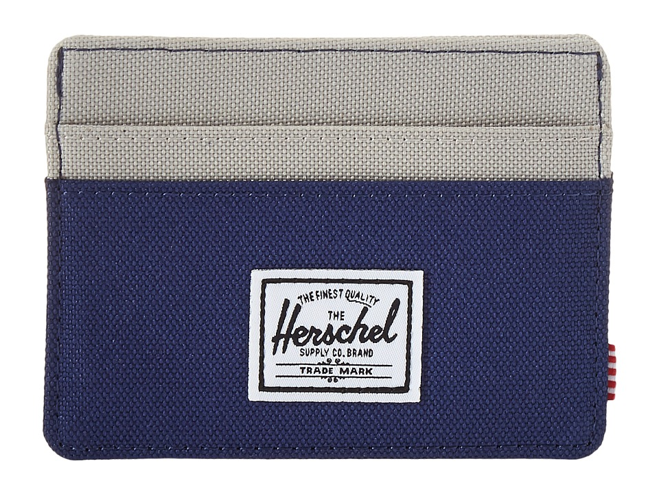 Herschel Supply Co. - Charlie (Twilight Blue/Pelican) Credit card Wallet