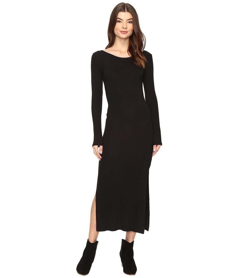 Amuse Society - Naia Dress (Solid Black) Women's Dress