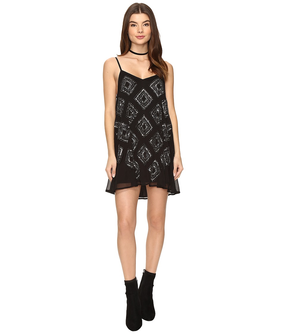 Amuse Society - Shine On Sequin Dress (Black) Women's Dress