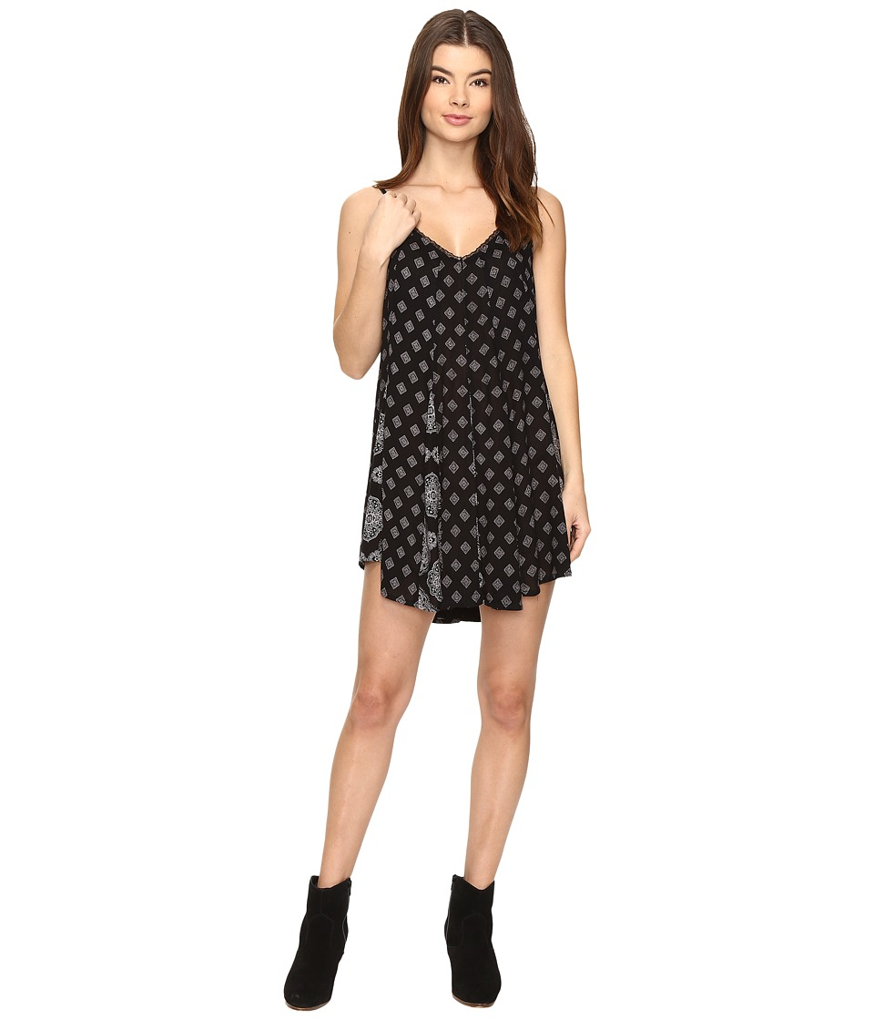 Amuse Society - Petra Dress (Black) Women's Dress