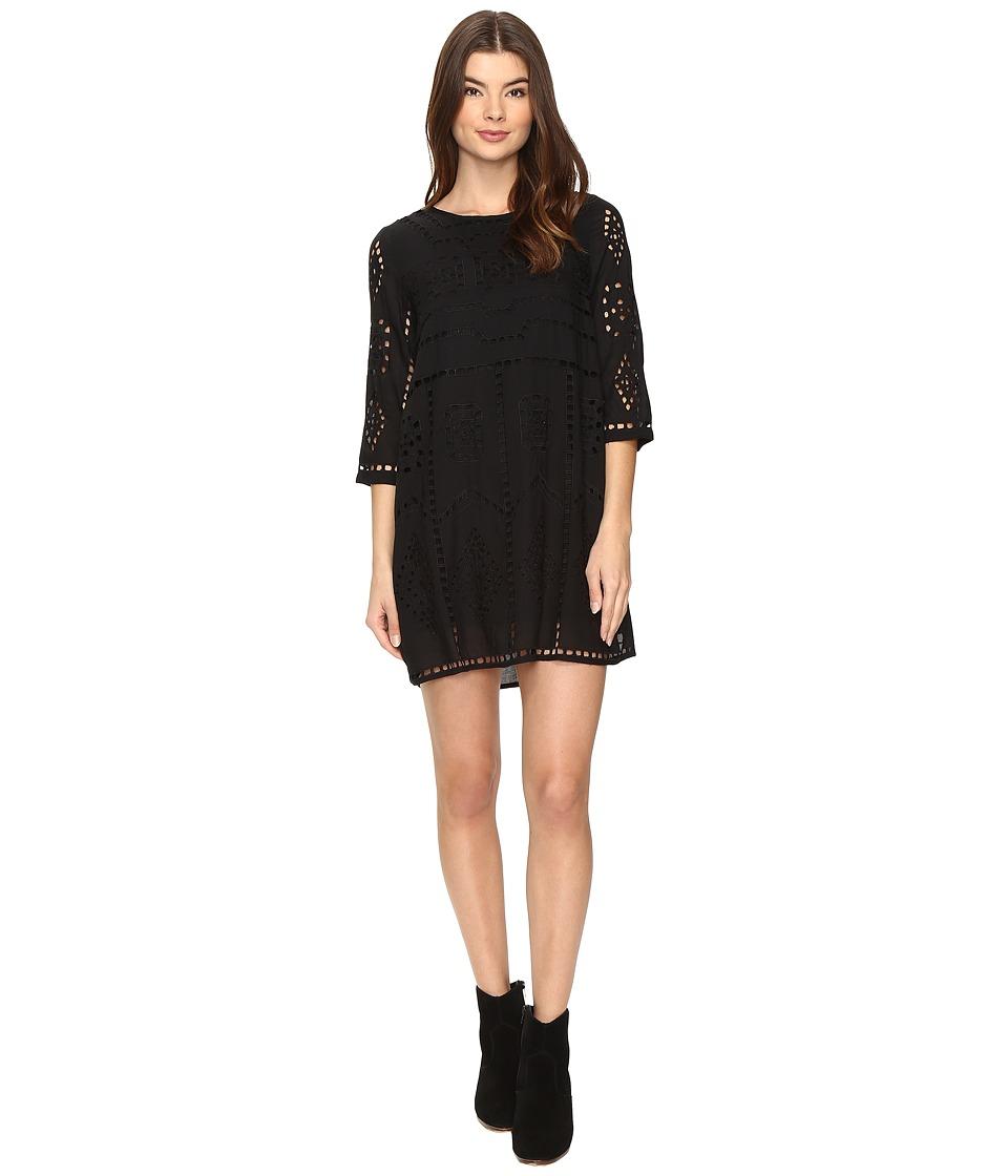 Amuse Society Ophelia Dress (Black) Women