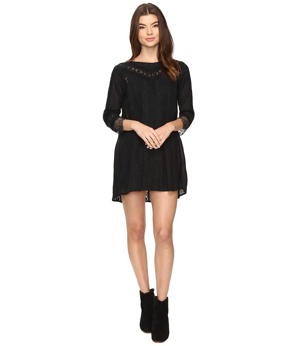 Amuse Society - Gabriel Dress (Black) Women's Dress