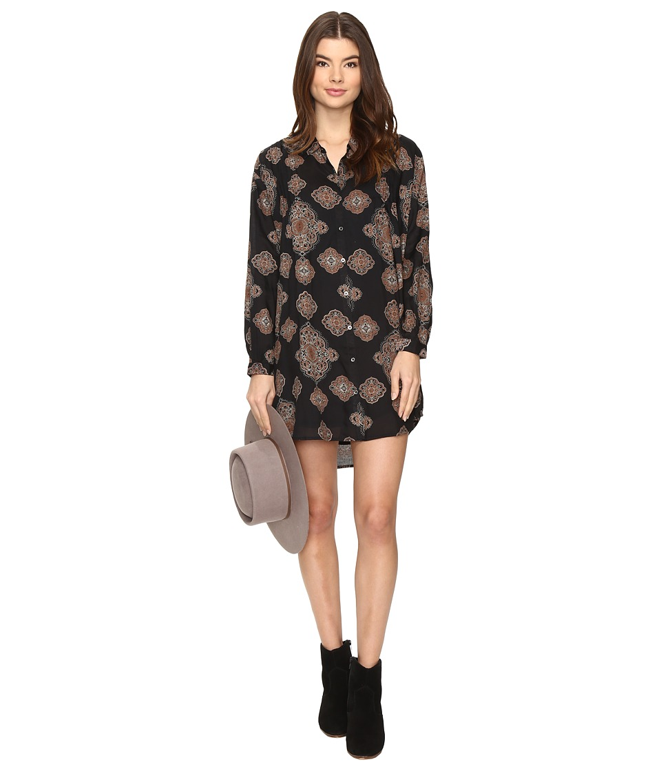 Amuse Society - Adela Dress (Black) Women's Dress
