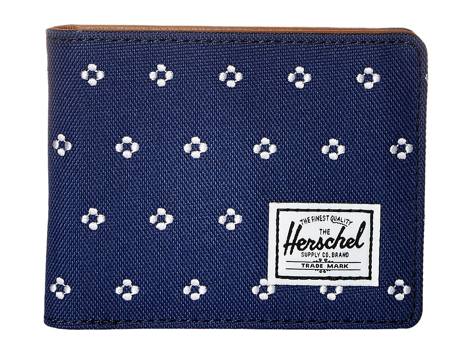 Herschel Supply Co. - Hank (Twilight Blue/White Dots) Wallet Handbags