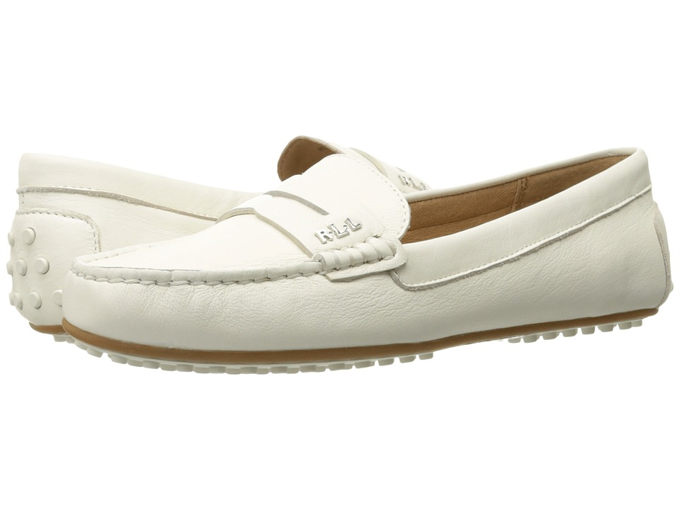 LAUREN Ralph Lauren - Belen (Artists Creme Super Soft Leather) Women's Shoes