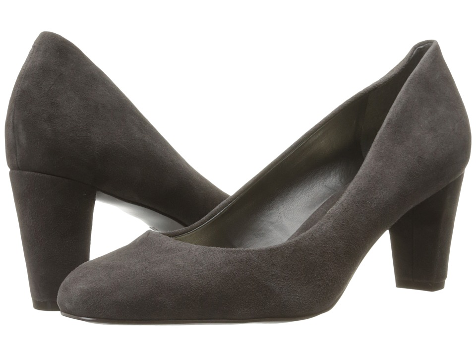 LAUREN Ralph Lauren - Hala (Charcoal Kid Suede) Women's Shoes
